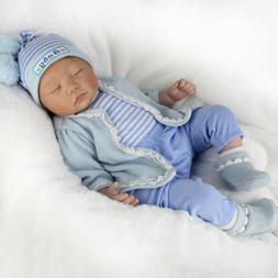 Handmade Reborn Newborn Dolls 22inch Vinyl Silicone Baby Boy