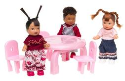 Happy Family BABY FRIENDS 1st Birthday 3 Doll Set