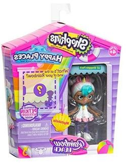 Shopkins HAPPY PLACES Rainbow BEACH Mystabella Unicorn Doll