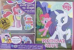 Hasbro MY LITTLE PONY Activity STORYBOOK & DRESS Up Magnetic