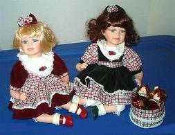 Heritage Collection Dolls Stephanie & Sabrina