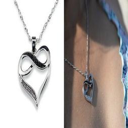 Infinity Heart Necklace for Girlfriend Women Wife Valentine