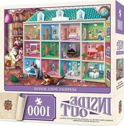 MasterPieces Inside Out Sophia's Dollhouse Jigsaw Puzzle by