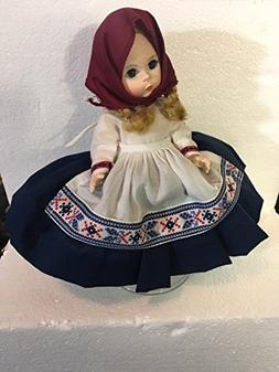 "Alexander Doll Company 8"" International Doll ""YUGOSLAVIA #58"