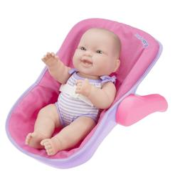 JC TOYS LOTS TO LOVE BABY DOLL IN ADJUSTABLE CARRIER - Featu
