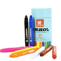 Mandy Jorma 12 Colors Kids Washable Crayons Play Child Art S