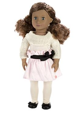 Our Generation Kaylee 18-Inch Doll with Curly Hair, Blue Eye