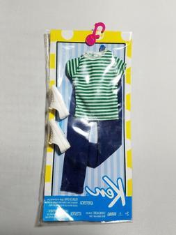 Barbie Ken Fashion Casual Stripe Shirt & Jeans