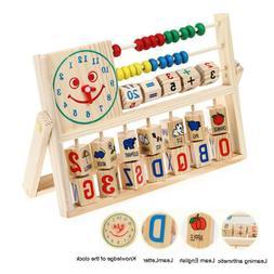 Kids Bead Abacus Counting Frame Educational Learn Maths Crea
