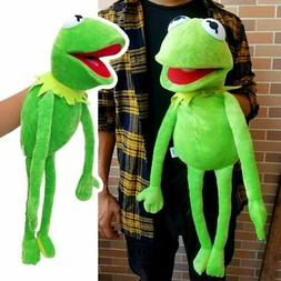 "Kids Birthday Xmas Gift 22"" Kermit the Frog Hand Puppet Soft"