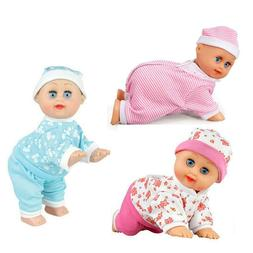 Kids Electric Baby Dolls Crawling Toys Music Kids Learning E