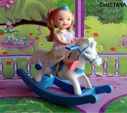 Kids Toy Doll Accessories Hobbyhorse For 1/12 Kelly Dolls Fo