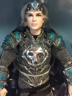 King of the Crystal Cave Faraway Forest Barbie Ken Gold Labe
