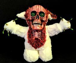 kneeling zombie teddy bear halloween decoration prop