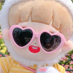 Kpop plush Doll Accessories Cute Sunglasses For Both 15cm An