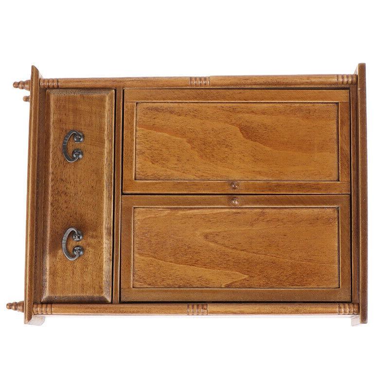 1:12 Dolls Vintage Wooden Model Furniture