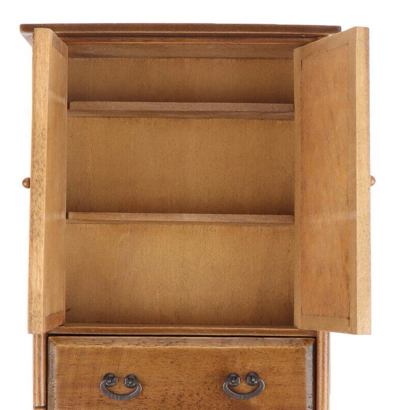Vintage Wooden Wardrobe Furniture