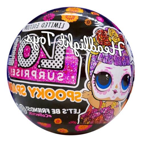 1 LOL Surprise Spooky Sparkle Bebe Ball Tots Halloween In Hand