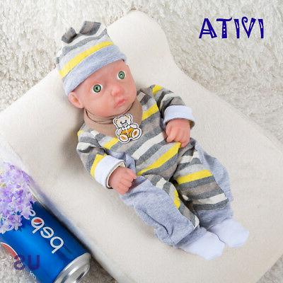 IVITA 11'' Silicone Realistic Doll Baby