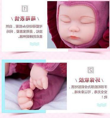"14"" Soft Vinyl Lifelike Reborn Baby Newborn Alive Gifts"