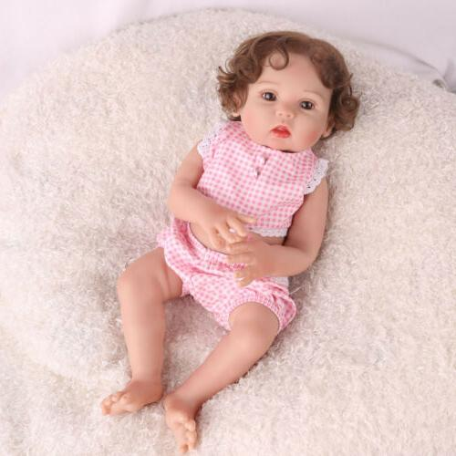 Reborn Anatomically Handmade Xmas Gifts Doll