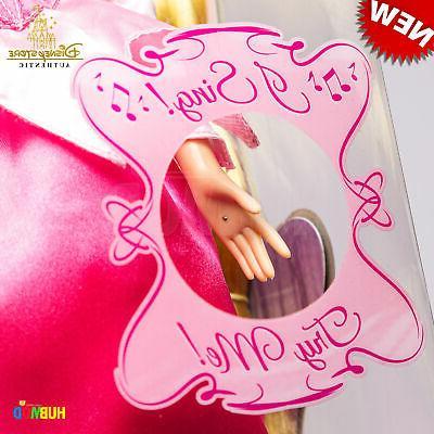 Disney Store Beauty Princess Aurora Doll -