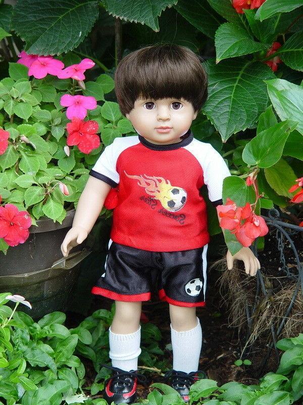 American Fashion 18 Inch Boy Doll ~ Mason ~