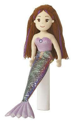 18 Inch Mermaid Doll Merissa Stuffed Plush Toy Friend Brown