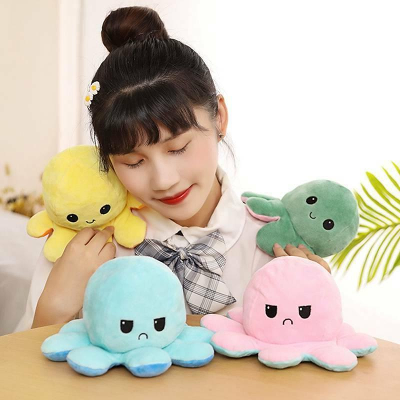1X Emotional Face Double-Sided Toy grewa
