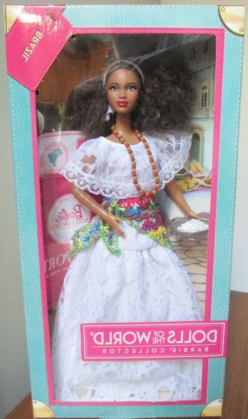 2012 barbie dolls of the world brazil