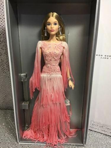 2016 blush fringed gown platinum label barbie