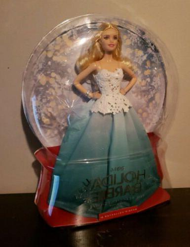 2016 holiday barbie doll new globe peace