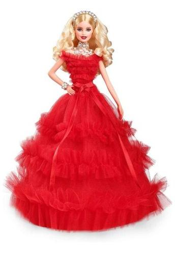 2018 holiday doll blonde