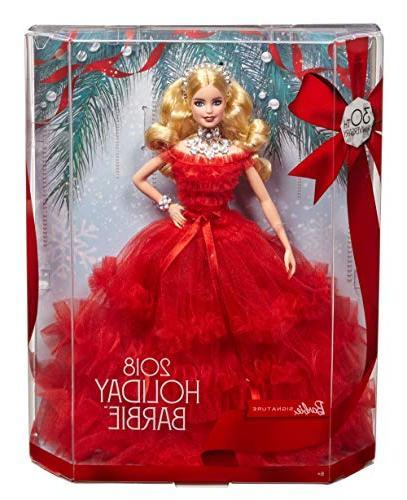 Barbie 2018 Holiday Blonde