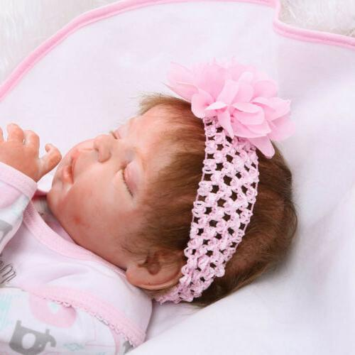 Full Silicone Reborn Baby Girl Doll