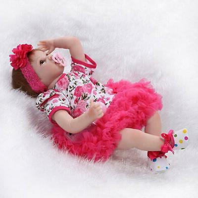 "22"" Lifelike Girl Doll Reborn Newborn"
