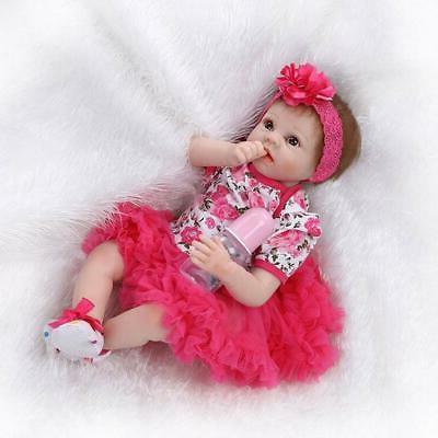 "22"" Handmade Girl Reborn Newborn Dolls"