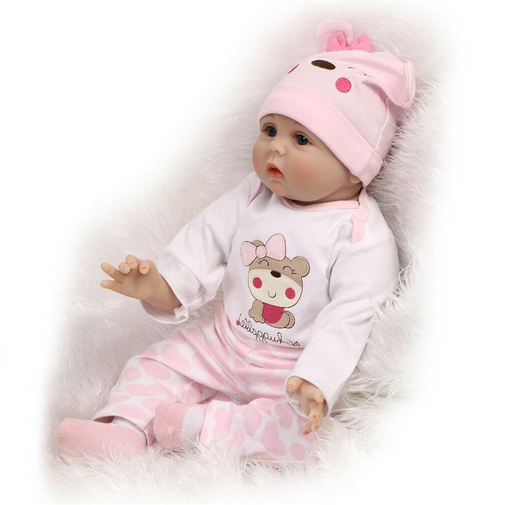 22'' Handmade Reborn Newborn Girl Kid's