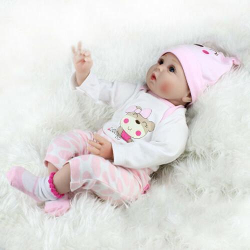 22'' Silicone Vinyl Baby Dolls Gift