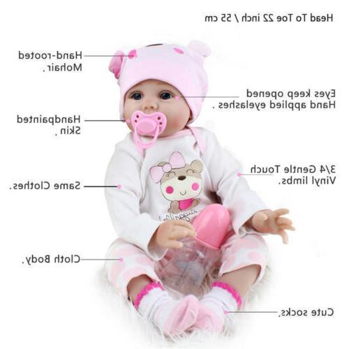 22'' Silicone Dolls Toys