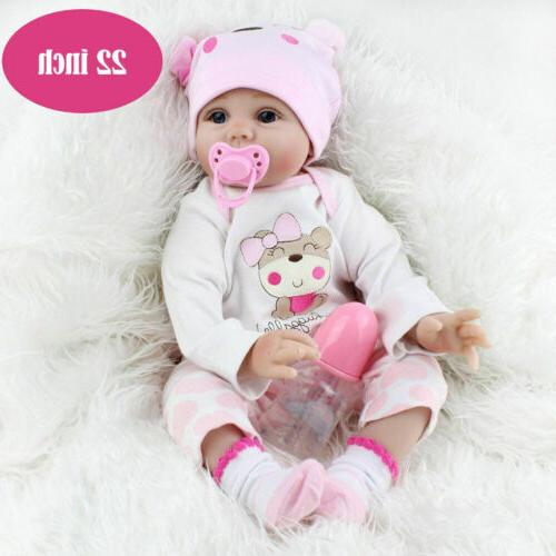 22 reborn baby dolls realistic vinyl silicone