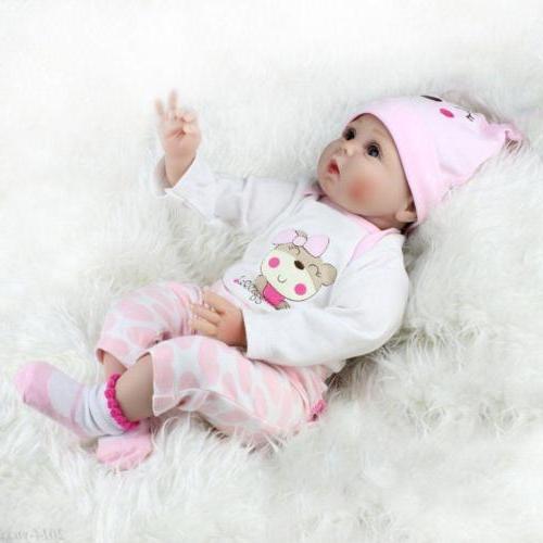 22'' Silicone Vinyl Reborn Baby Doll Handmade