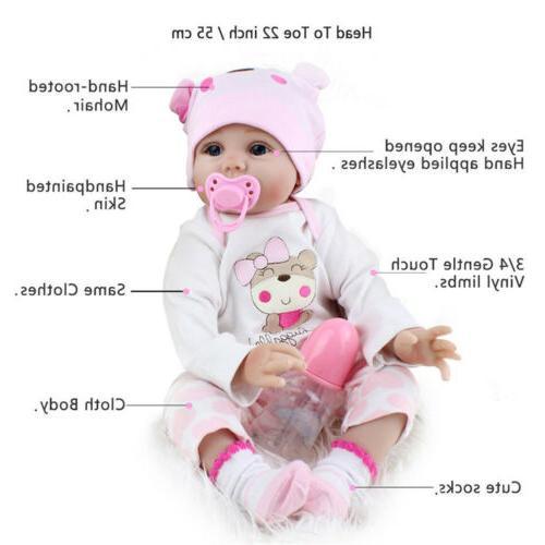 22'' Baby Realistic Vinyl Girl