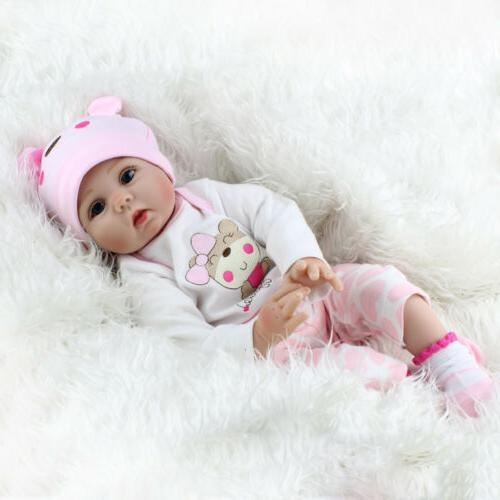 22'' Dolls Realistic Vinyl Silicone Newborn Girl