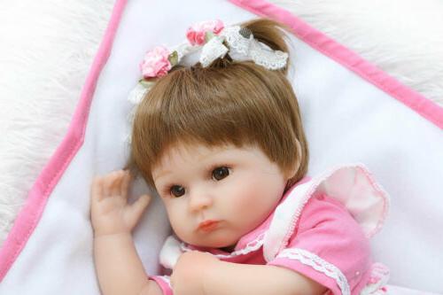 "22"" Girl Dolls Lifelike Vinyl Toy Kids"