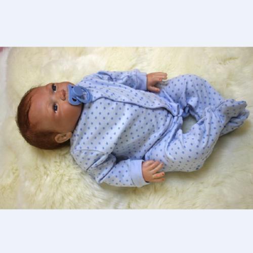 "22"" Reborn Baby Baby Boy Doll + Clothes"