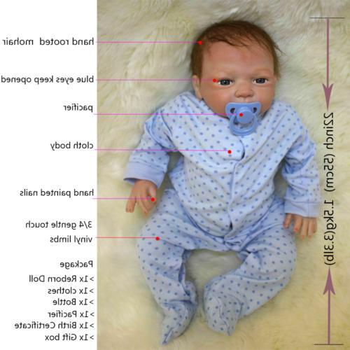 """22"""" Baby Silicone Vinyl +"""