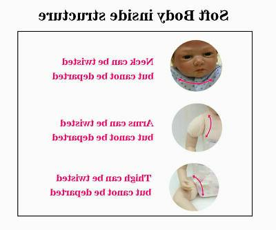 """22"""" Dolls Baby + Clothes"""