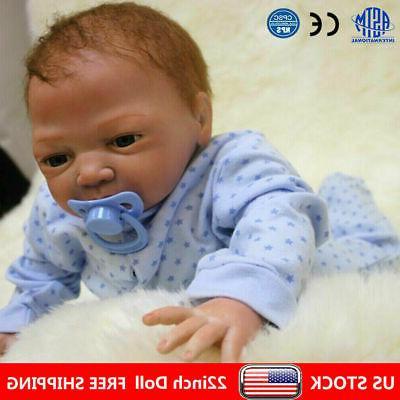 22 reborn dolls newborn baby silicone vinyl