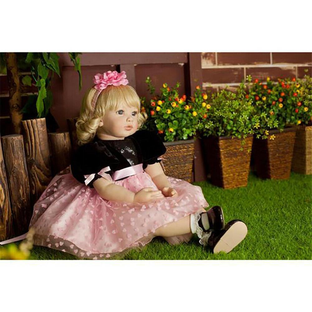 "24"" Soft Reborn Dolls Girl Realistic"